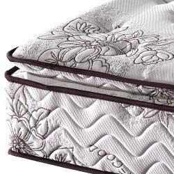 【歐若拉名床】正三線乳膠涼爽舒柔布硬式獨立筒床墊-雙人特大6X7尺