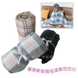 感恩使者 披肩毯 - 140x100cm大尺寸  ZHCN1915 輪椅用披肩毯 輪椅用蓋腳毯 多功能蓋毯