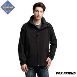 FOX FRIEND 男款單件防水防風透氣外套 371  最大到5L