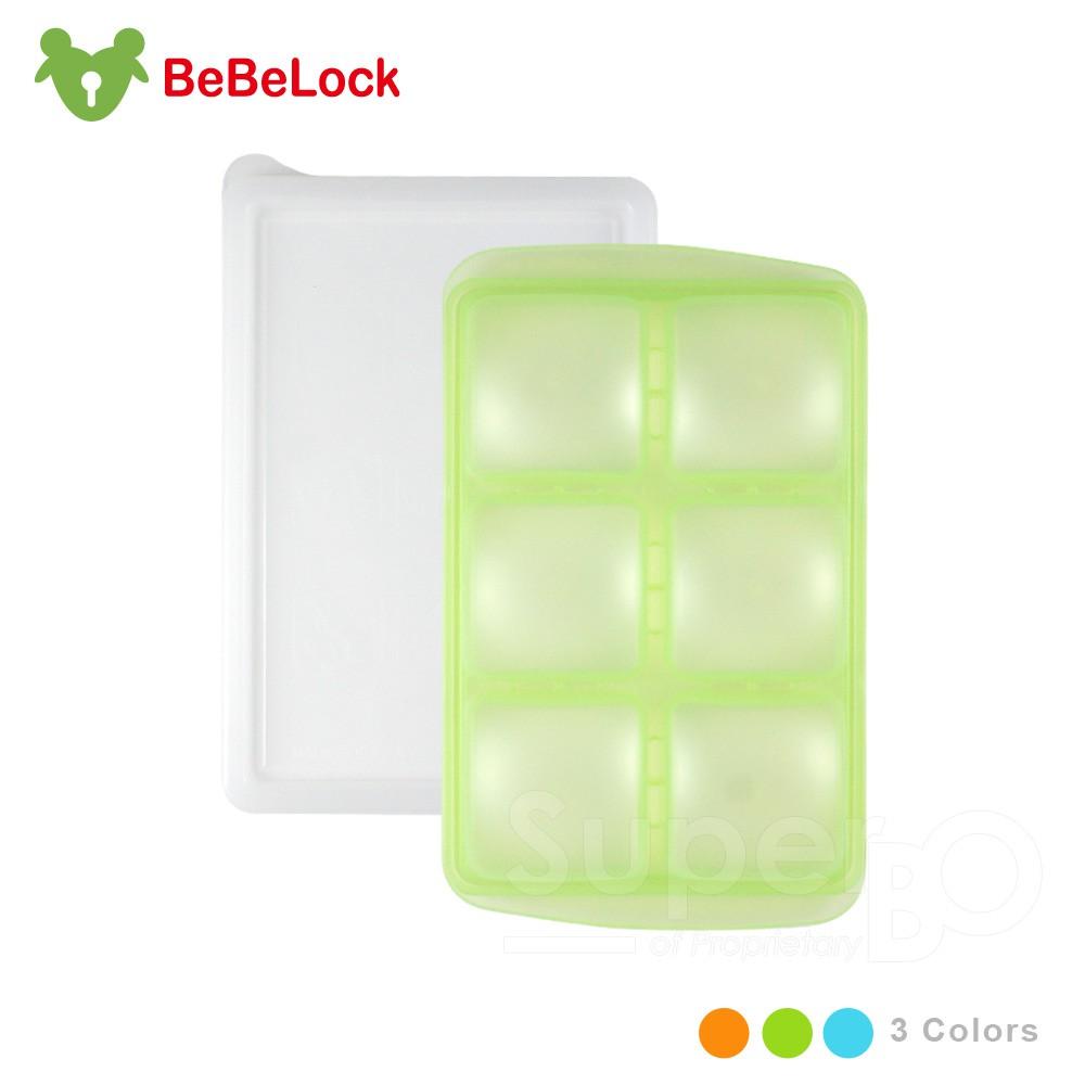 BeBeLock副食品連裝盒50g(6格)
