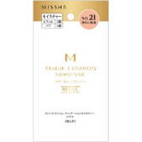 MISSHA(ミシャ) M クッションファンデーション モイスチャー NO.21(明るい肌色) SPF50+・PA+++ レフィル