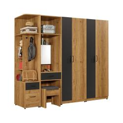 H&D 費利斯組合8.5尺衣櫃