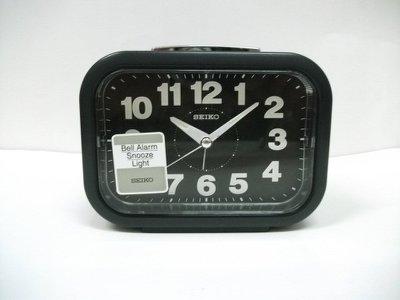 [裕明鐘錶] 日本精工 SEIKO貪睡燈光超大鈴聲靜音鬧鐘-QHK026