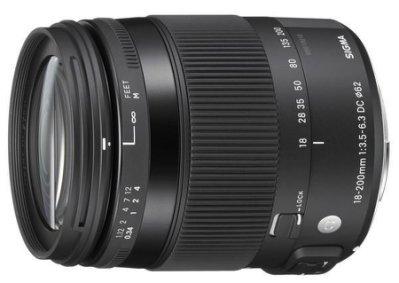SIGMA 18-200mm F3.5-6.3 DC MACRO OS HSM 鏡頭