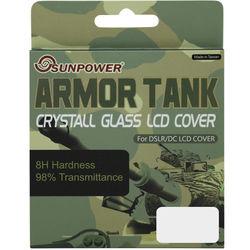 SUNPOWER 防爆水晶玻璃硬式保護貼- ( SONY A900 專用)