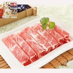 台糖安心豚 梅花肉片3盒(200g/盒)