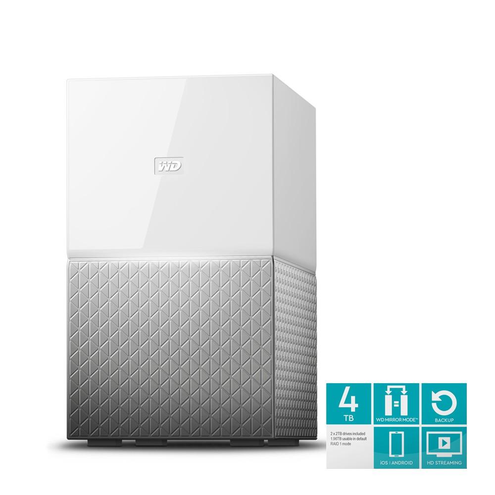 (免運費) WD My Cloud Home Duo 4TB(2TBx2) 3.5吋雲端儲存系統