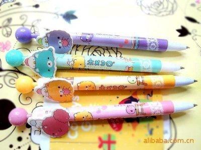 愛美99精品舘--愛美99精品舘--韓國新潮文具 多款超Q造型圓珠筆|原子筆|不挑款 |下殺8元