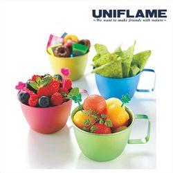 【UNIFLAME】 馬卡龍鈦金杯240ml-四色可選