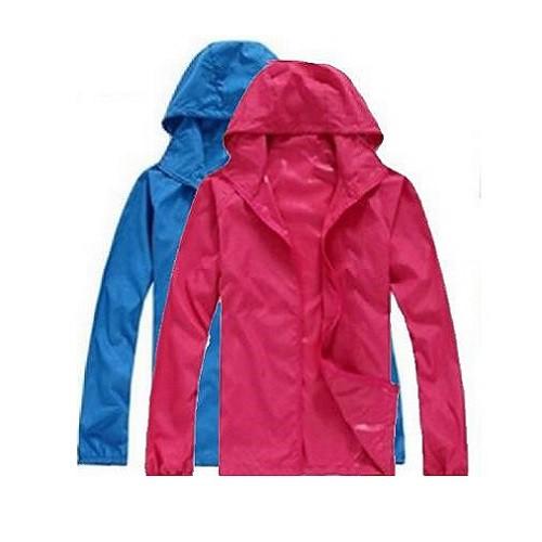 防風外套 薄外套 防曬外套 連帽外套 抗紫外線抗uv防風防潑水風衣外套 15色7碼 XS~6XL