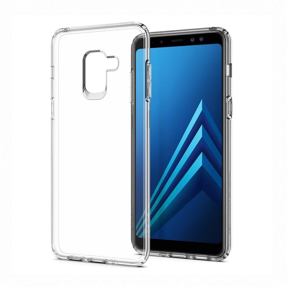 SGP / Spigen Galaxy A8 (2018) Liquid Crystal-超輕薄型彈性保護殼_SGP官旗