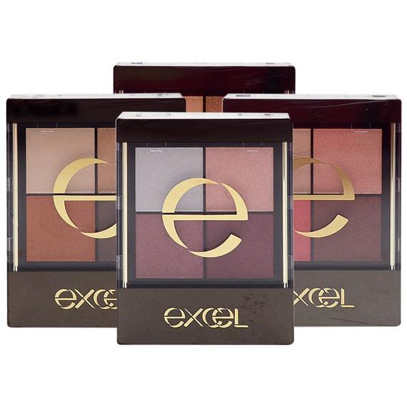 日本 Excel 光綻時裳四色眼采(31g含裝)【小三美日】眼影 D485251