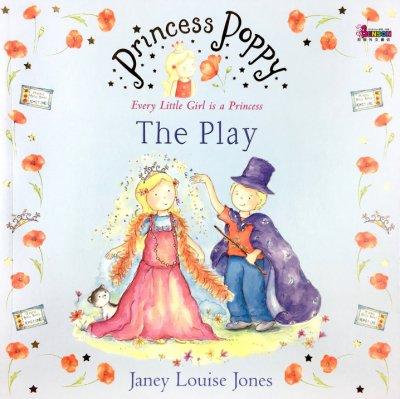 [邦森外文書] Princess Poppy The Play 品格教育繪本 帕比公主系列 平裝本