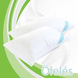 Oleles 歐萊絲 乳膠QQ枕2入組