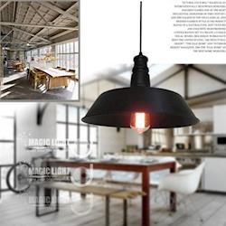 【光的魔法師 Magic Light】Loft2 餐廳吧台工業風燈- 黑色