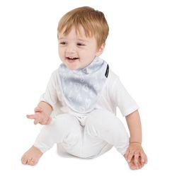 【Mum 2 Mum】雙面竹纖維棉機能口水巾圍兜-愛心/點點