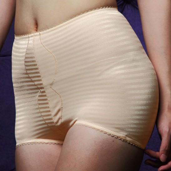 【華歌爾】輕柔亮面中腰修飾褲 兩件組(64-82號/柔嫩膚)