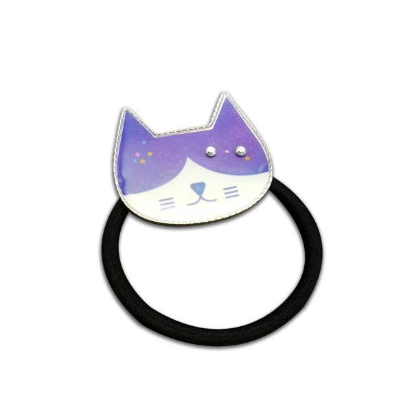 【貓粉選物】貓粉髮圈-星空藍/亮紫,兩款可以選擇