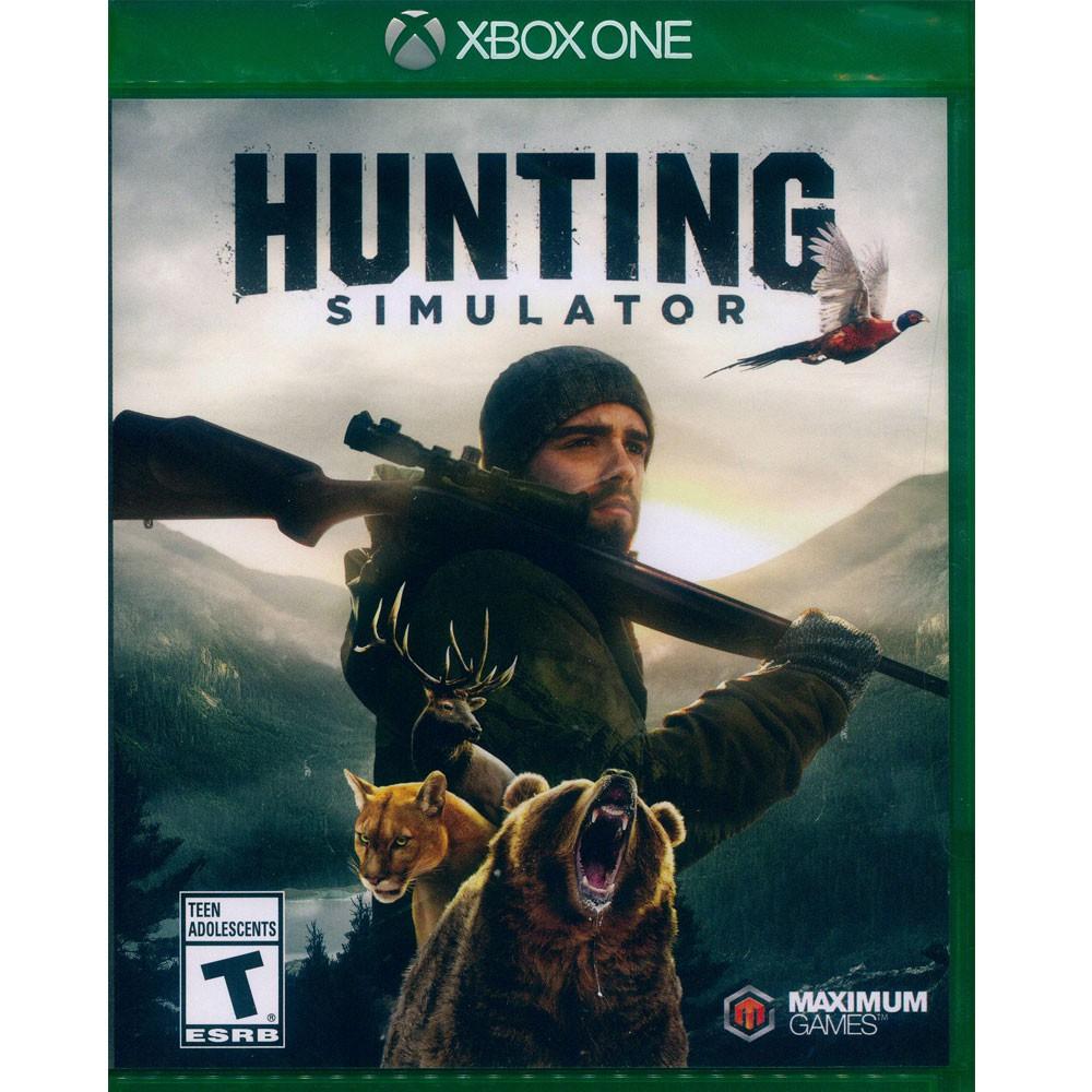 XBOX ONE 模擬狩獵 中英日文美版 Hunting Simulator (一起玩)(現貨全新)