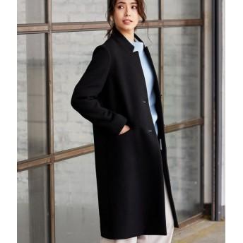 ビス/【予約】/【WEB限定】二重織りメルトンチェスターコート/ブラック/L