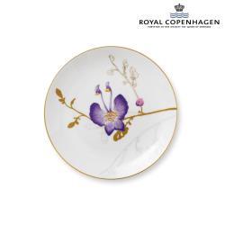 ROYAL COPENHAGEN芙蘿拉花神骨瓷盤22cm-三色堇