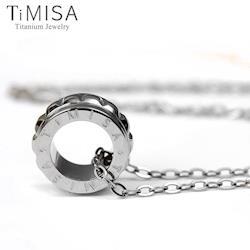 【TiMISA】幸福御守(S) 純鈦項鍊(F)