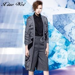 CHENG DA 秋冬專櫃精品女裝時尚羊羔絨長版外套NO.386328