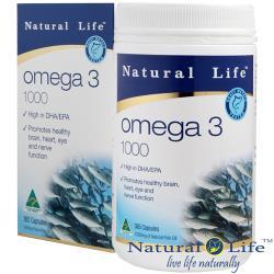 澳洲Natural Life高純度深海魚油1000mg 1瓶