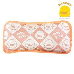 任-黃色小鴨PiyoPiyo-冰絲涼感嬰幼兒枕頭