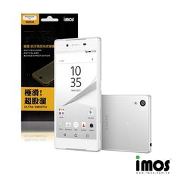 iMos-Touch Stream Sony Xperia Z5 抗污防反光霧面保護貼(背面)