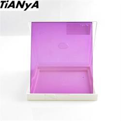 Tianya天涯80 全紫色濾鏡(寬83mm方型濾鏡)相容法國Cokin高堅P系列方形濾鏡