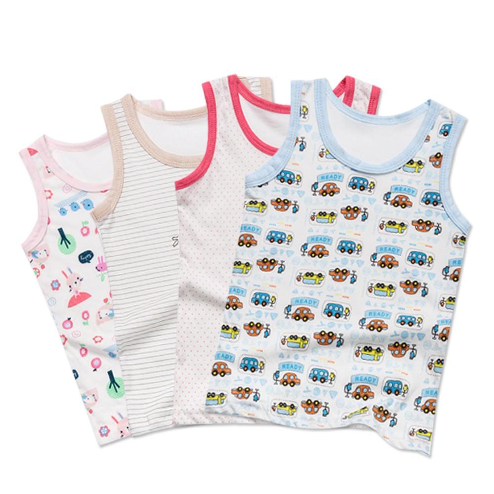 童裝嬰兒服寶寶無袖背心上衣 韓國原裝內衣睡衣 雪倫小舖【PP0289】-