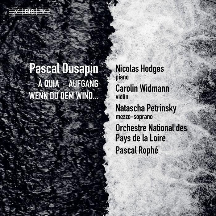 (BIS) 帕斯卡 杜薩邦 三首協奏曲 Pascal Dusapin SACD2262