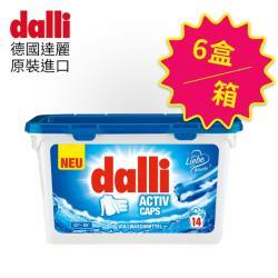 德國達麗Dalli 強效洗衣膠囊14球x6盒