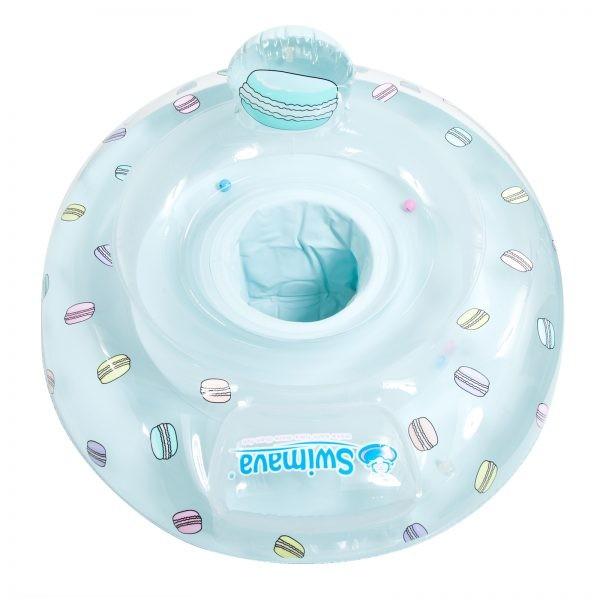 英國 Swimava 馬卡龍嬰兒游泳座圈G3
