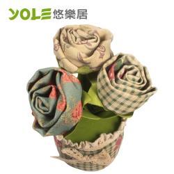 YOLE悠樂居  香炭包(2入) 薔薇-花藝造型