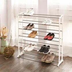 【HR安室家】極簡實用層疊鞋架-SHF25