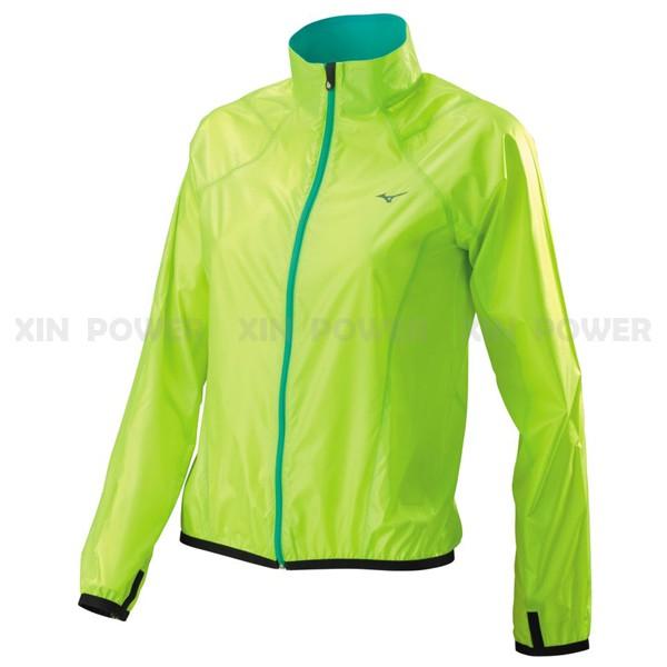 美津濃Mizuno 超輕量 平織 防風 防潑水 女 路跑 風衣 J2TC578436