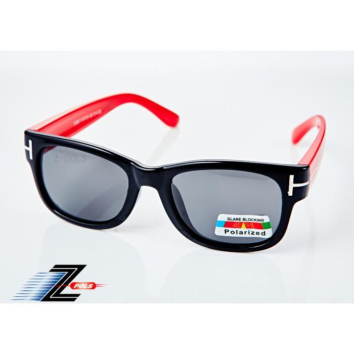 【Z-POLS兒童款】《橡膠軟質彈性壓不壞款》 Polarized頂級防爆偏光抗UV400兒童運動眼鏡!送盒裝全配!16