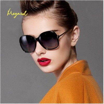 【MEGASOL】寶麗萊摺疊UV400偏光太陽眼鏡米蘭設計獎款(摺疊MS9217Z)
