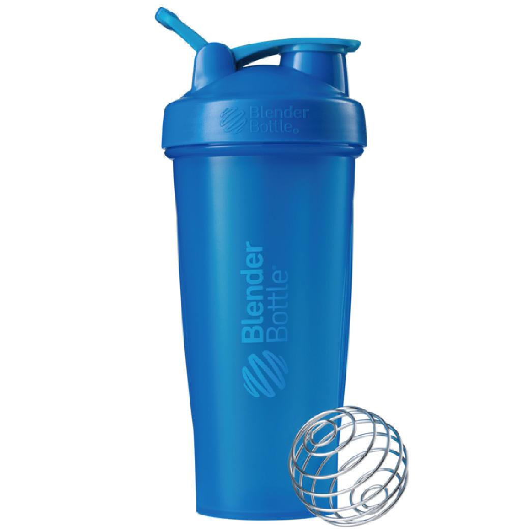 [Blender Bottle] Classic搖搖杯(840ml/28oz)-藍色