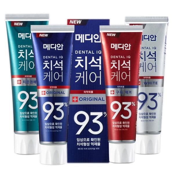 韓國 Median 93%強效淨白去垢牙膏(120g) 【小三美日】升級版 D101414