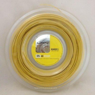【威盛國際】LUXILON 網球線 4G Rough 16L 壓紋硬線 (分裝)