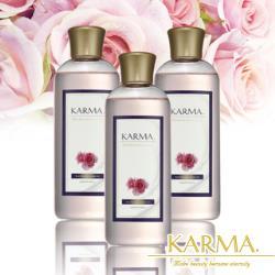 【丹麥KARMA】玫瑰精緻皂化沐浴露(3瓶)美肌加量組