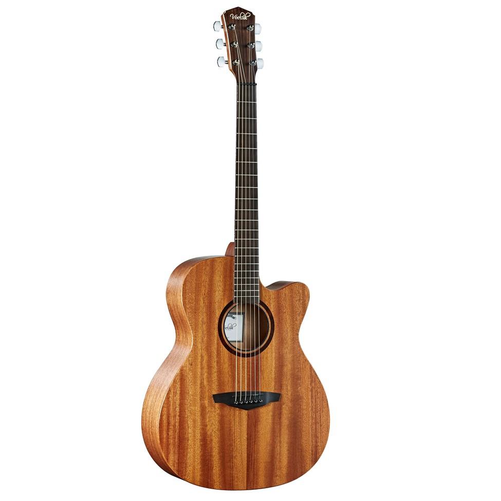 Veelah V1-OMMC V1 桃花心木單板 41吋 民謠吉他 木吉他 OM桶 缺角 OMMC