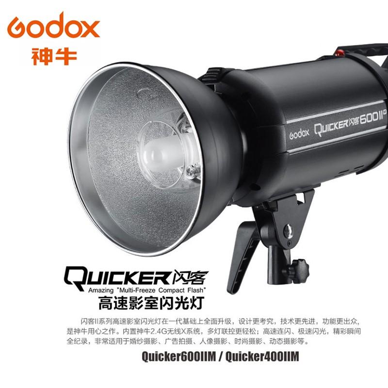 Godox 神牛 QT600IIM 攝影棚燈 二代閃客 110V高速回電 外拍燈 高速同步 相機專家 [開年公司貨]