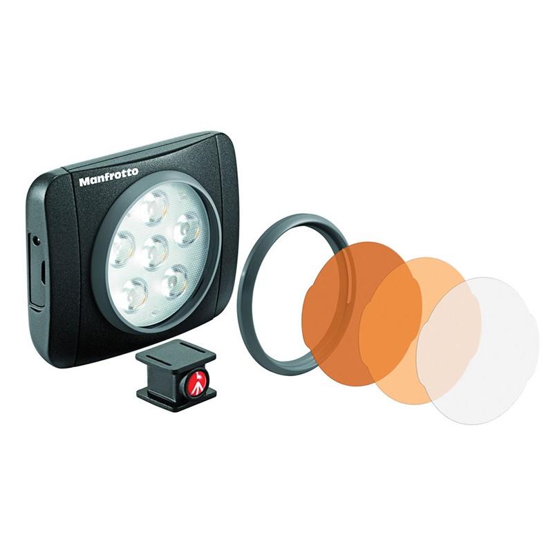 Manfrotto LUMIMUSE 6 LED 補光燈 LED燈 MLUMIEART-BK [相機專家] [公司貨]