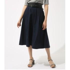 【AZUL by moussy:スカート】フロントタックフレアスカート
