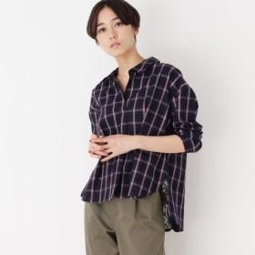 [マルイ]【セール】バックレースデザインスキッパーシャツ/シューラルー(レディス)(SHOOLARUE Ladies)