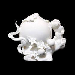 ▣喜瑞瓷▣仙猴偷桃